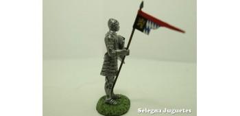 Caballero Alemán con Armadura soldado plomo escala 54 mm Altaya