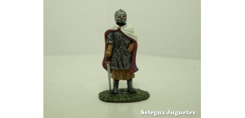 Caballero Frances Siglo XIII Soldado Plomo escala 54 mm 1/32 Altaya