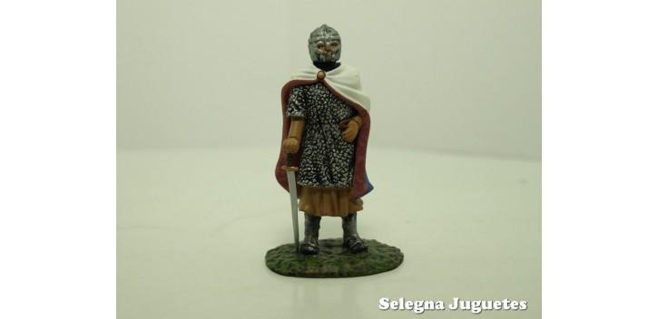 CABALLERO FRANCES SIGLO XIII SOLDADO PLOMO 54 mm ALTAYA