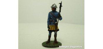 soldado plomo Cuchillero Siglo XIII Soldado plomo 54 mm escala