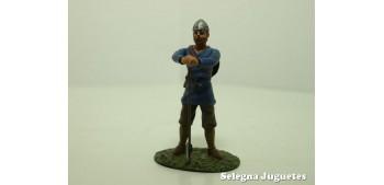 lead figure Guerrero Sajon Siglo IX soldado plomo escala 54 mm