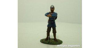 Guerro Sajon Siglo IX soldado plomo escala 54 mm Altaya