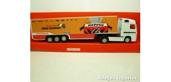 Mercedes Benz Actros Repsol Honda Team Truck 1/87 new ray camion escala miniatura