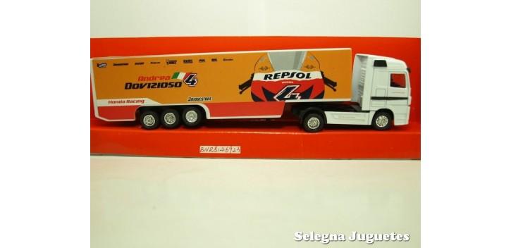 camion miniatura Camión Repsol 1/87