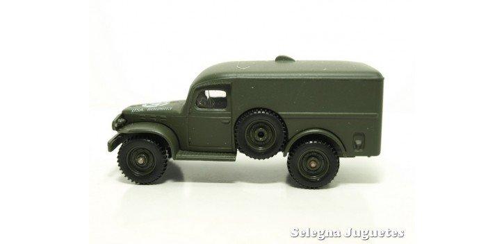 Dodge 4x4 WC 54 1/50 Coche Metal