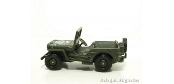 Jeep us 1/43 Coche Metal miniatura WWII