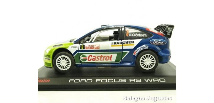 Lopes Rallye de Portugal Diecast Saico 2001 Peugeot 206 WRC Plata equipos A