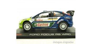 Ford Focus Rs WRC Gronholm montecarlo 2007 escala 1/32 Saico coche miniatura metal