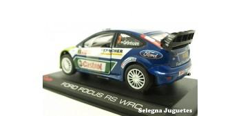 coche miniatura Ford Focus Rs WRC Gronholm montecarlo 2007
