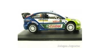 Ford Focus Rs WRC Gronholm monte carlo 2007 escala 1/32 Saico coche miniatura metal