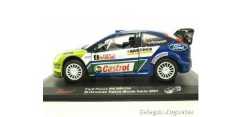 Ford Focus Rs WRC 07 Hirvoenen Montecarlo 2008 escala 1/32 Saico coche miniatura metal