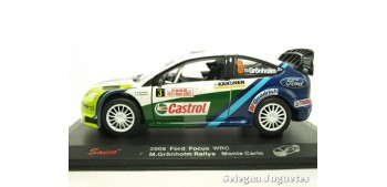 miniature car FORD FOCUS WRC 2006 GRONHOLM MONTE CARLO - 1/32