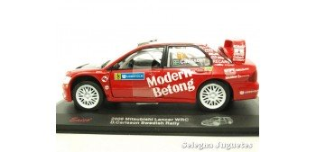Mitsubishi Lancer WRC Carlsson Suecia escala 1/32 Saico coche
