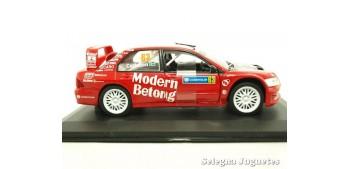 Mitsubishi Lancer WRC Carlsson Suecia escala 1/32 Saico coche miniatura metal
