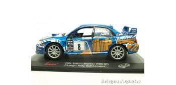 Subaru Impreza Longhi 2006 Rally Adriatico escala 1/32 Saico coche miniatura metal
