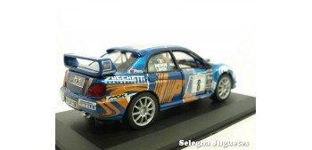 Subaru Impreza Longhi 2006 Rally Adriatico escala 1/32 Saico coche miniatura metal Saico