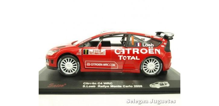 coche miniatura Citroen C4 Loeb Montecarlo 2008 escala 1/32