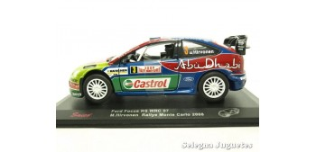 miniature car Ford Focus WRC Montecarlo 2008 Hirvonen escale