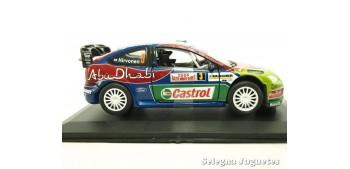 coche miniatura Ford Focus WRC Montecarlo 2008 Hirvonen escala