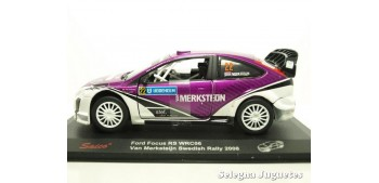 Ford Focus RS WRC06 Van Merksteijn Swedish 2008 escala 1/32 Saico