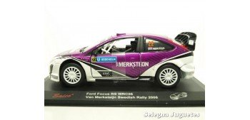 Ford Focus RS WRC06 Van Merksteijn Swedish 2008 escala 1/32
