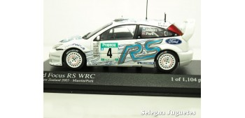 miniature car Ford Focus Rs WRC New Zealand Zelanda 2003 Matin