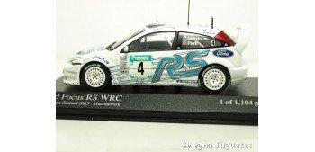 miniature car Ford Focus Rs WRC New Zealand Zelanda 2003 Matin