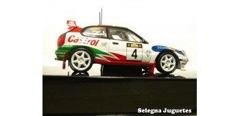 Toyota Corolla WRC 99 - D. Auriol Nº 4 escala 1/43 Auto Art coche miniatura metal
