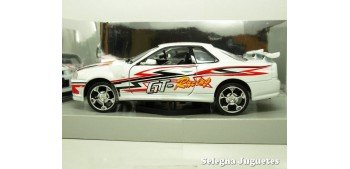 NISSAN SKYLINE GT-R TUNNING - 1/24 MOTOR MAX