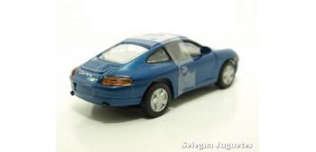Porsche 996 Azul escala 1/43 Motor max coche metal