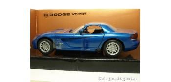 coche miniatura Dodge Viper STR-10 1/24 Motor max coche metal