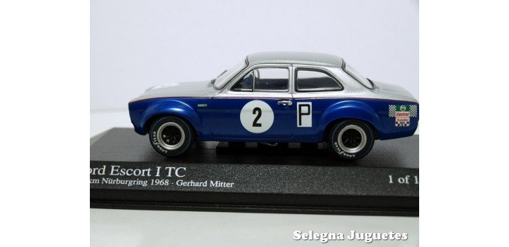 Ford Escort I Tc 500Kms Nurburgring 1968 Mitter escala 1/43