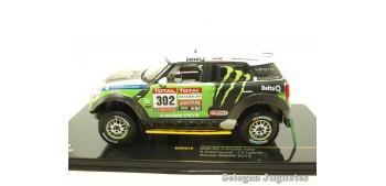 Mini All 4 Racing 302 Dakar 2012 scale 1:43 car miniature