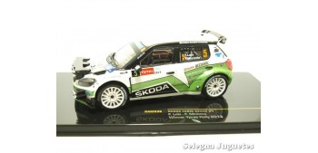 miniature car Skoda Fabia S2000 número 5 scale 1:43 car