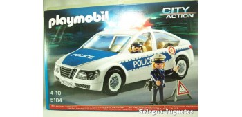 Coche de Policía con Luces Playmobil, referencia 5184