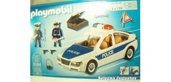 coche miniatura Coche de Policía con Luces Playmobil