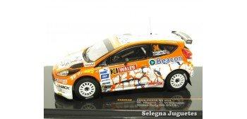 Ford Fiesta R5 número 34 Higgins 1/43 Ixo coche a escala