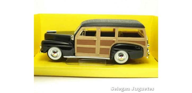 escala auto Ford Woody 1948 1/43 Lucky Die Cast coche a escala