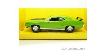 escala auto Plymouth Gtx 1971 1/43 Lucky Die Cast coche a escala