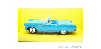 miniature car Ford Thunderbird 1955 1/43 Lucky Die Cast car