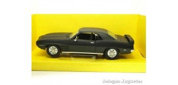 miniature car Pontiac Firebird Trans Am 1969 Matt Black 1/43