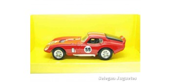 miniature car Shelby Cobra Daytona coupe red 1/43 Lucky Die