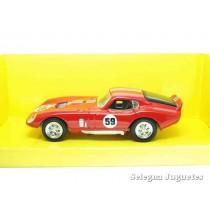 "<p><strong>Shelby Cobra Daytona coupe rojo</strong></p> <p><strong>Lucky Die Cast</strong></p> <p><strong>1/43 - 1:43</strong></p> <p><strong>Ver más<a href=""https://www.selegnajuguetes.es/es/coches-a-escala/"" class=""btn btn-default"">COCHES A ESCALA</a></strong><strong>Ver más<a href=""https://www.selegnajuguetes.es/es/por-escalas/escala-1-43/"" class=""btn btn-default"">1/43 - 1:43</a></strong></p>"
