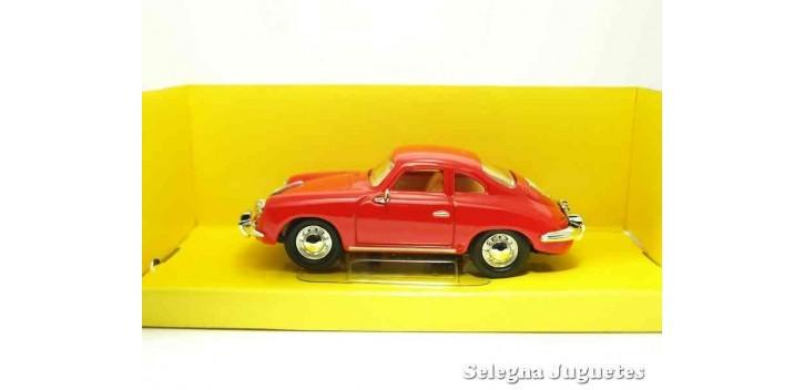 maqueta Porsche 356 B/C Rojo 1/43 Lucky Die Cast coche a escala