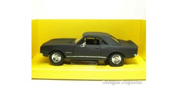 Chevrolet Camaro Z-28 1967 Matt Black 1/43 Lucky Die Cast coche a escala