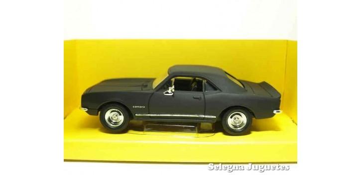 Chevrolet Camaro Z-28 1967 Matt Black 1/43 Lucky Die Cast coche