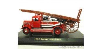 Dennis Ligt Four 1938 camión bomberos 1/43 Lucky Die Cast