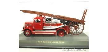 maquetas de coches Dennis Ligt Four 1938 camión bomberos 1/43