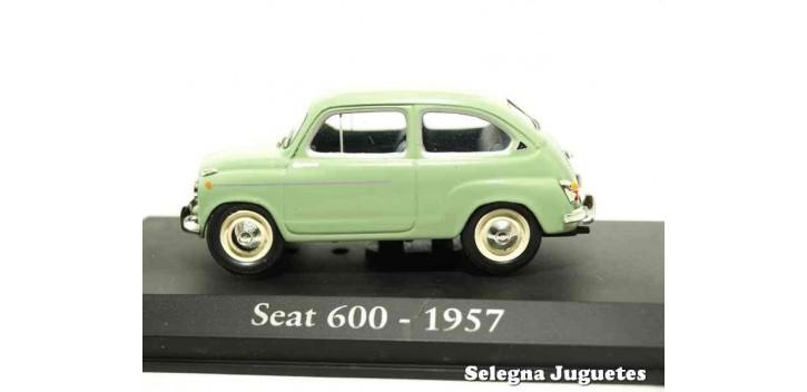 coche miniatura Seat 600 1957 1/43 (vitrina) Ixo - Rba -