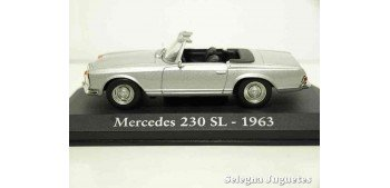Mercedes Benz 230 SL 1963 1/43 (Showcase) Ixo - Rba - Clásicos inolvidables coche metal miniatura